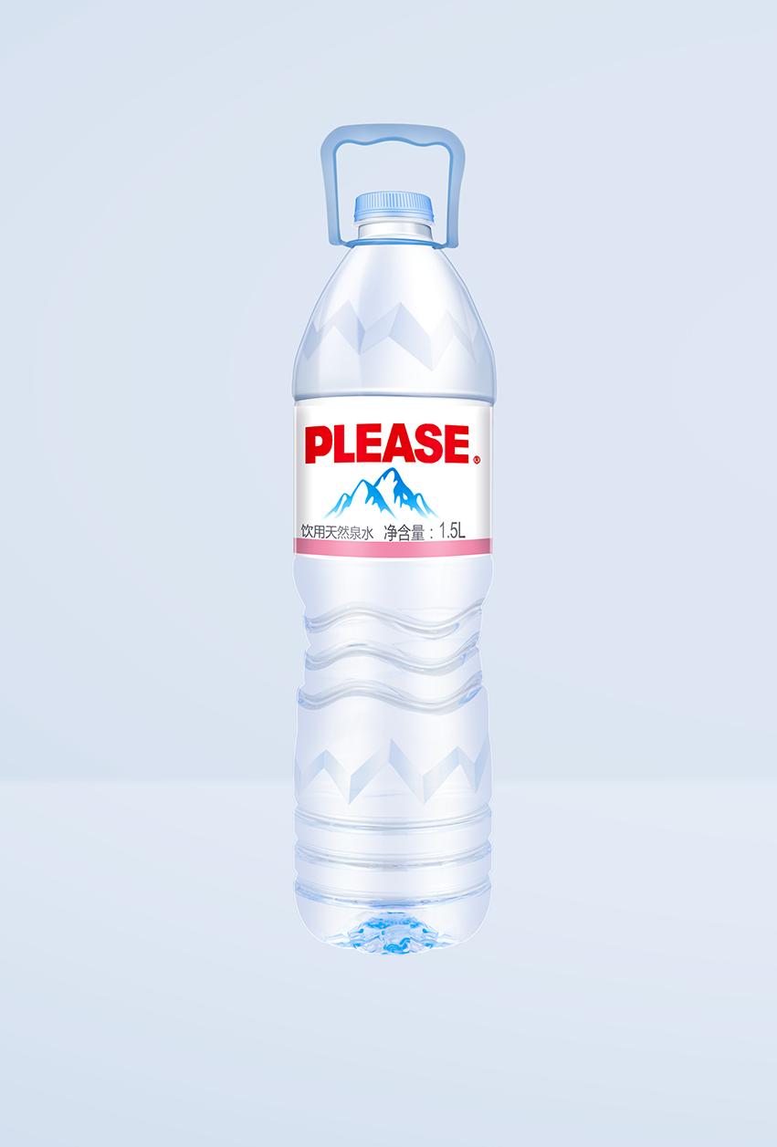 1.5L饮用天然泉水