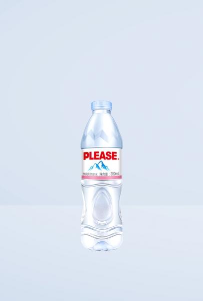 380mL饮用天然泉水